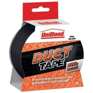 UNIBOND Duct Tape 25m Black