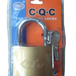 CQC 63mm Cast Iron Padlock - 3 Keys