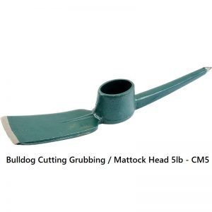 Bulldog CM5 Cutting Mattock Head - 5lb