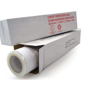 Cover It Clear Contractor Sticky Carpet Protection Film 600mm x 25m