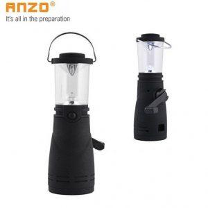 ENZO 4 LED Wind Up Camping Lantern