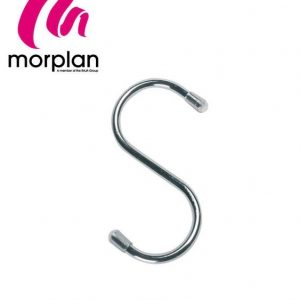Morplan Chrome S-Hooks 115x 5.5mm