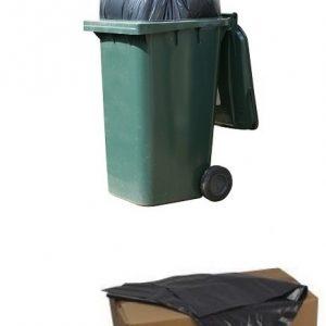 Wheelie Bin Refuse Black Bags (Box of 100)