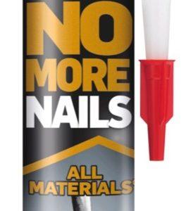 UniBond No More Nails All Materials Adhesive Glue Cartridge.Interior& Exterior