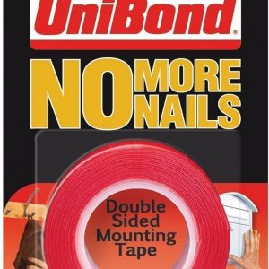UniBond No More Nails Double Sided Mounting Tape – 19 mm x 1.5 m