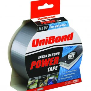 Unibond Extra Strong Power Tape 50mm x 25m - Silver