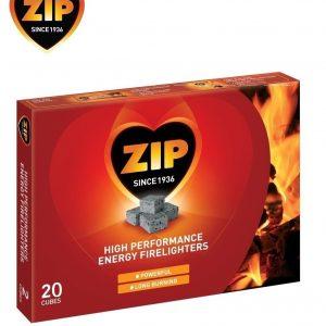 Zip Firelighters pack of 20 cubes