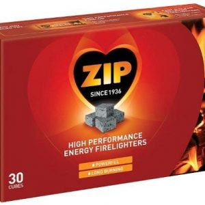 Zip Firelighters pack of 30 Cubes