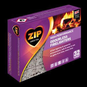 ZIP Odourless Firelighters Pack 32