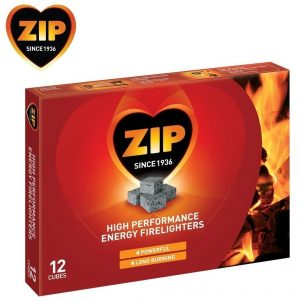 zip pack 12 firelighters