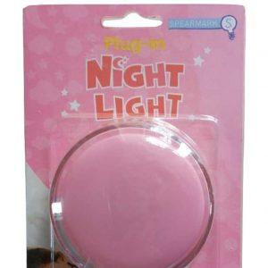 SPEARMARK Plug In Night Light, Pink