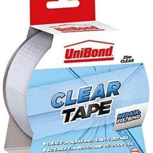 UniBond Clear Tape - 50 mm x 25 m