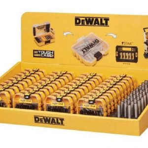 DEWALT 40 x 25 Piece PZ2 Screwdriver Bit Set & 40 Magnetic Bit Holders