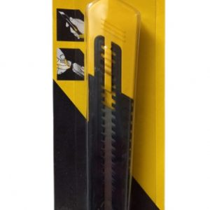 72x Stanley Retractable 18mm Safety Knife with Snap-off Blade