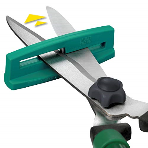100x Multi-Sharp Garden Shear and Scissor Sharpener