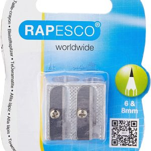Rapesco Traditional Double Hole Wdge Pencil Sharpener