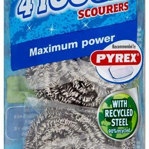 204x Spontex Tough Scourer, Pack of 4