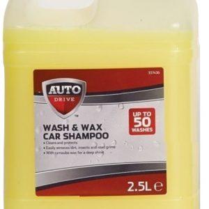 Auto Drive 2.5L Wash N Wax Shampoo