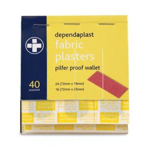 Dependaplast Fabric Plasters Wallets