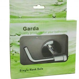 GARDA Single bathroom Robe Towel Hook