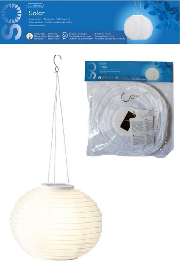 Lumineo 30cm chinese LED solar lantern
