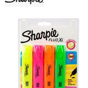 Sharpie Fluo Xl Highlighter 4 Pack