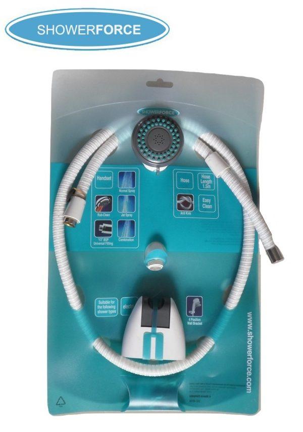 Showerforce 3pc Universal Shower Kit